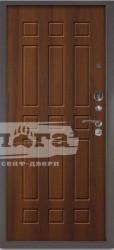 Сейф-дверь 3К+ Брасс Дуб рустикальный