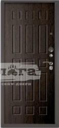Сейф-дверь 3К+ Брасс Венге