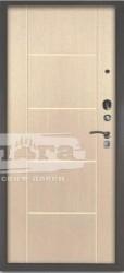 Сейф-дверь 3К+ Руст Ларче светлый