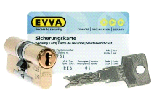 EVVA 3KS 5 ключей (Австрия)