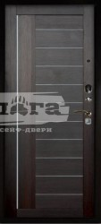 Сейф-дверь 2П Триумф Венге тисненый/Диана Вельвет
